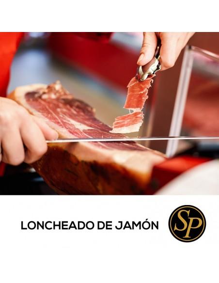 corte a mano de jamón de excelente calidad y barato corte manual artesanal curación en bodega