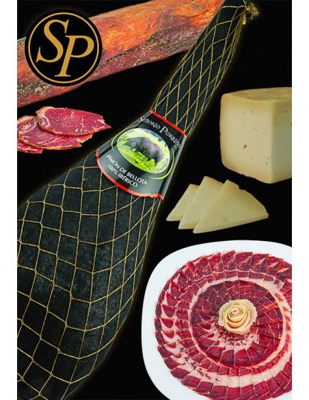 lote 2 de fabricación artesanal señorío porrino oferta descuento producto premium cerdo ibérico