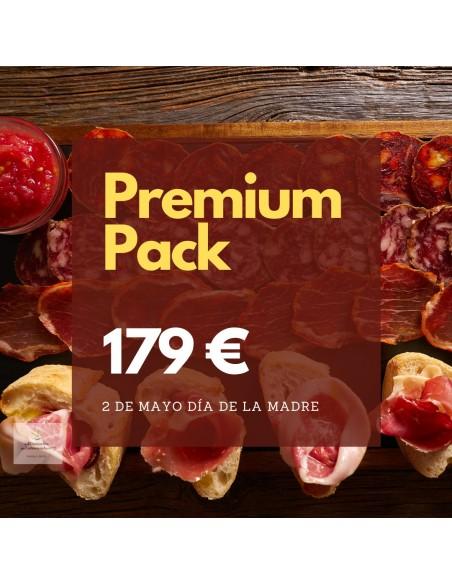 comprar pack embutidos y jamón ibérico oferta premium regalo
