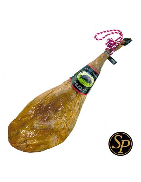 Jamón Bellota 100% Ibérico comprar producto selecto de cerdo Dehesa de Extremadura en Badajoz secadero bodega tradicional